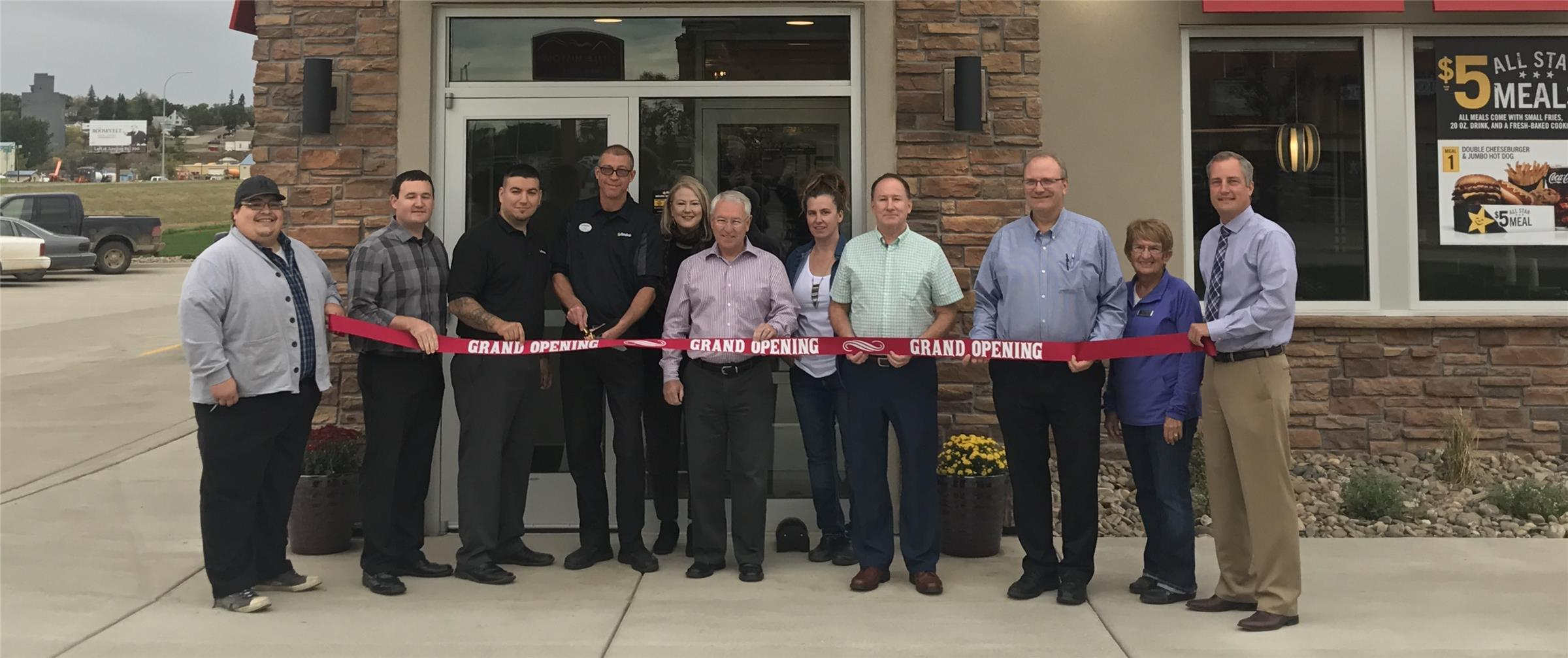Hardees Ribbon Cutting
