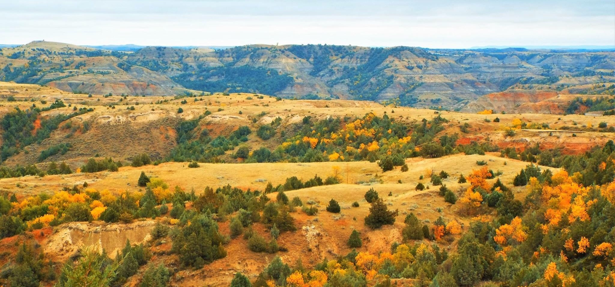 ND Fall Badlands
