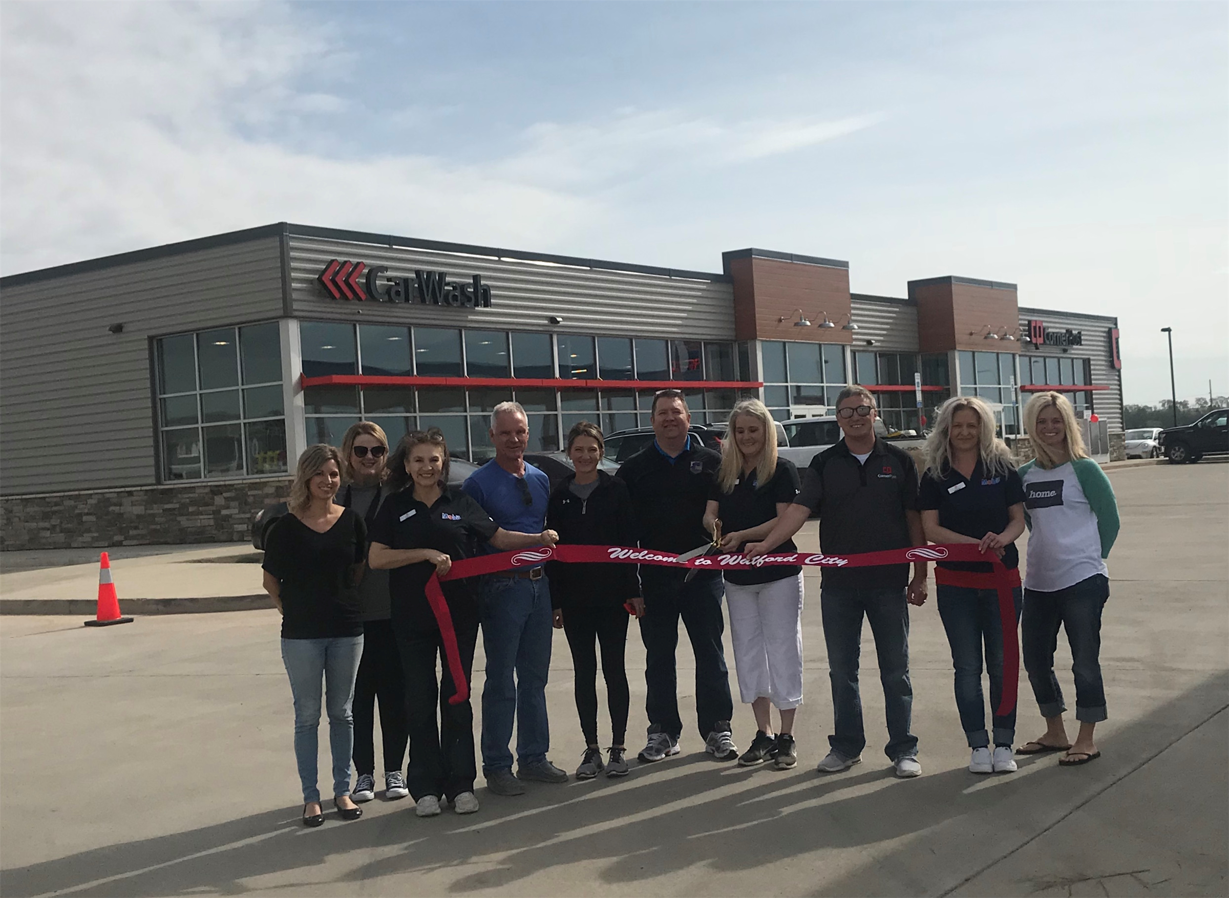 CornerPost Ribbon Cutting